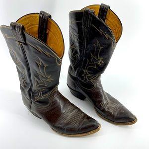 Men's size 10 1/2 cowboy boots